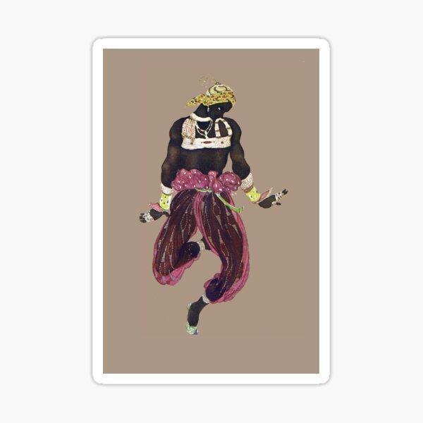 Costume for Scheherazade by Leon Bakst Sticker