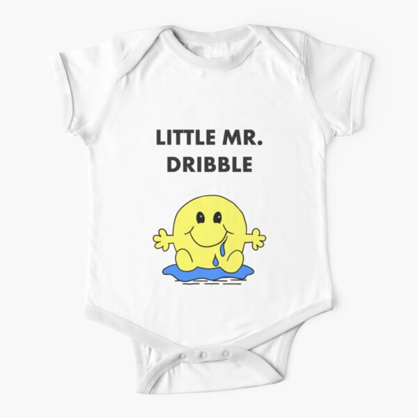 Mr Dribble Short Sleeve Baby One-Piece