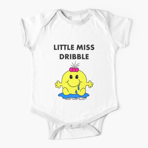 Miss Dribble Short Sleeve Baby One-Piece