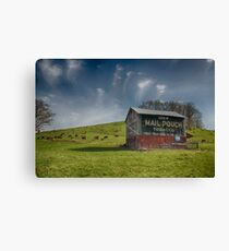 Mail Pouch Tobacco - Coshocton, Ohio USA Canvas Print