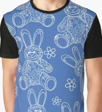 Seamless pattern with buny toys Graphic T-Shirt