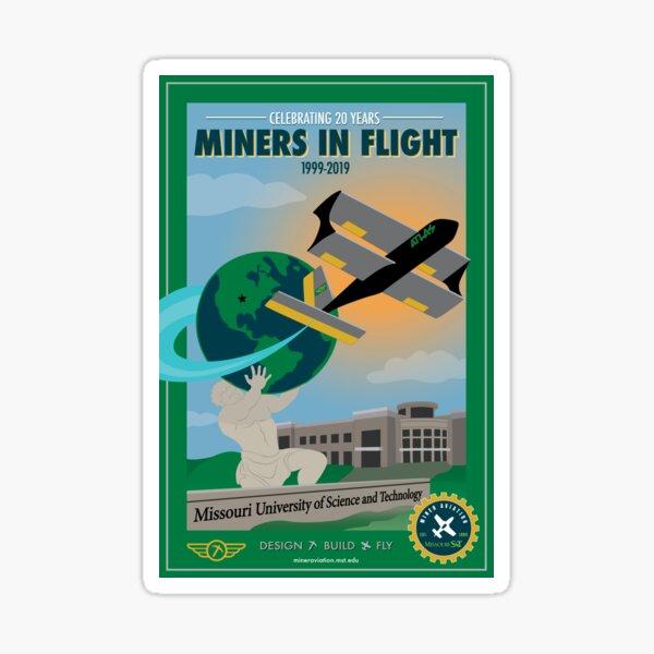 MAV Atlas/20th Anniversary Poster Sticker