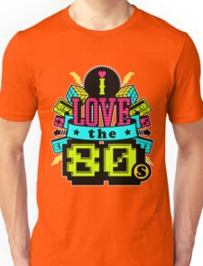 Cubes and Cassettes 80s T-shirt for