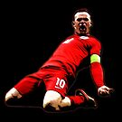 Wayne Rooney - Captain England by Kuilz