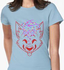 Cupcake Fox Lineart - Shirt Womens Fitted T-Shirt