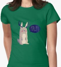 Fearsome Critter Womens Fitted T-Shirt