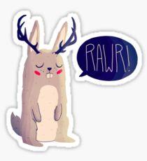 Fearsome Critter Sticker