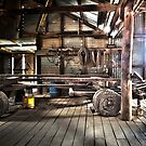 Wool Press, Old Wool shed by Normf