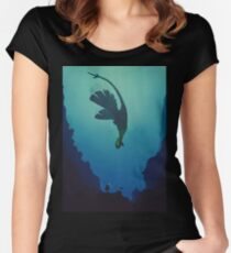 Lugia... Women's Fitted Scoop T-Shirt