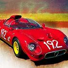 1967 Alfa Romeo Tipo 33/2 'Periscopica' Spyder by Stuart Row
