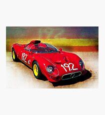 1967 Alfa Romeo Tipo 33/2 'Periscopica' Spyder Photographic Print