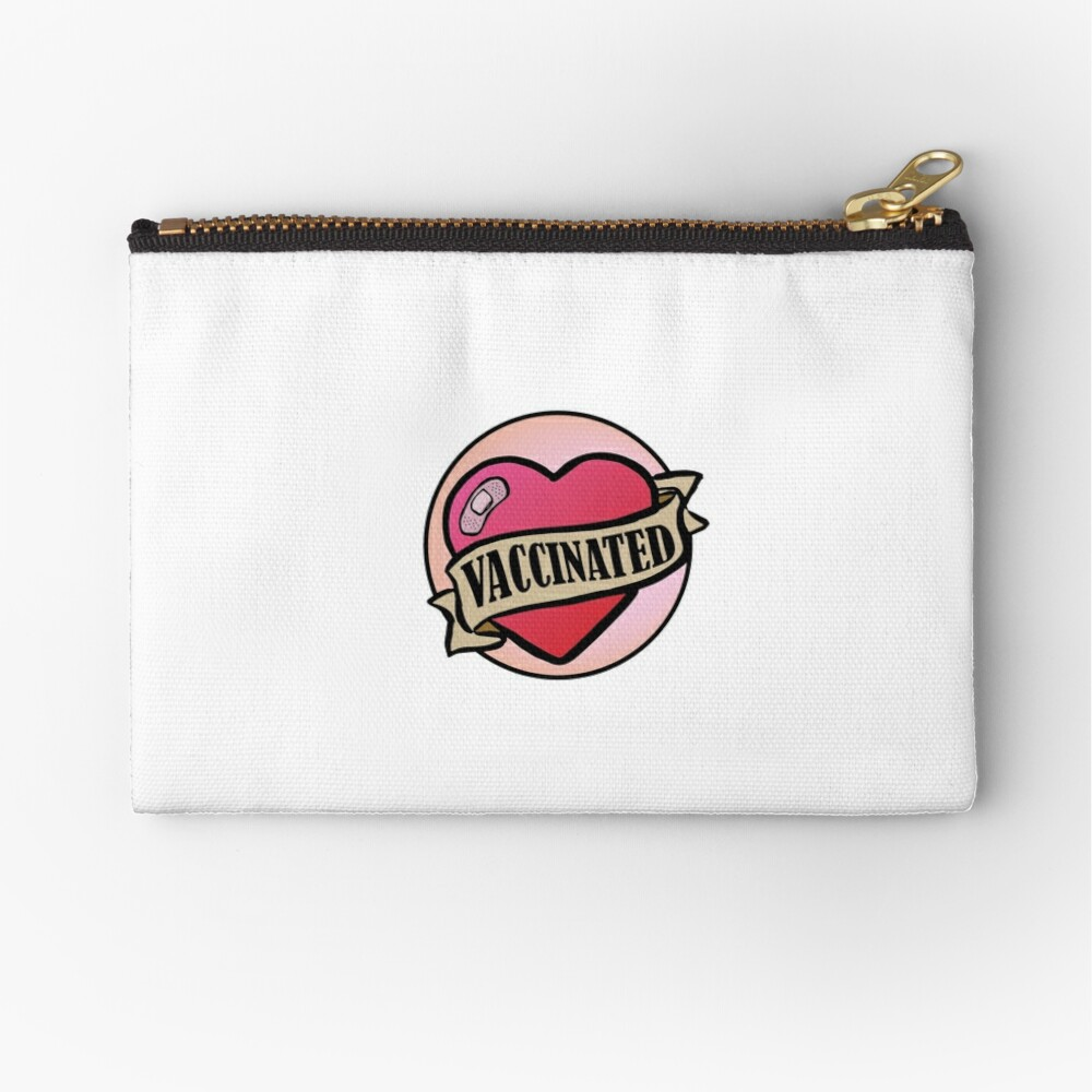 Vaccinated Zipper Pouch