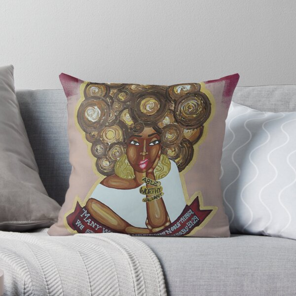 WE EXCEL THEM ALL Throw Pillow