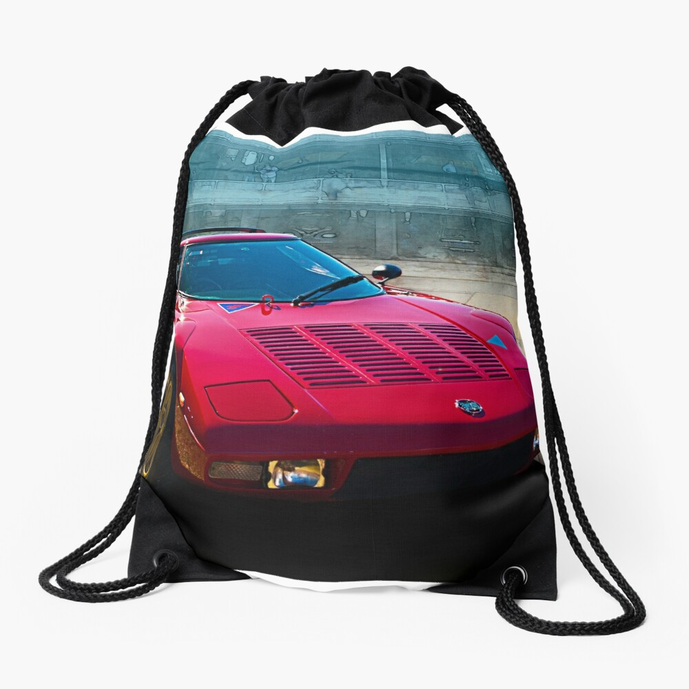 Lancia Stratos Drawstring Bag