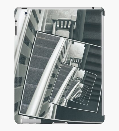 Spinning Carpeted Stairwell iPad Case/Skin