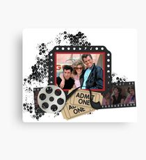 Grease Olivia Newton John Canvas Print