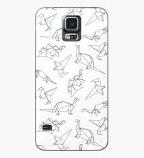 Funda/vinilo para Samsung Galaxy Dinosaurios de origami