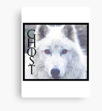 GHOST Canvas Print
