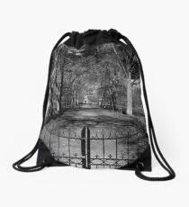 Gated  Drawstring Bag