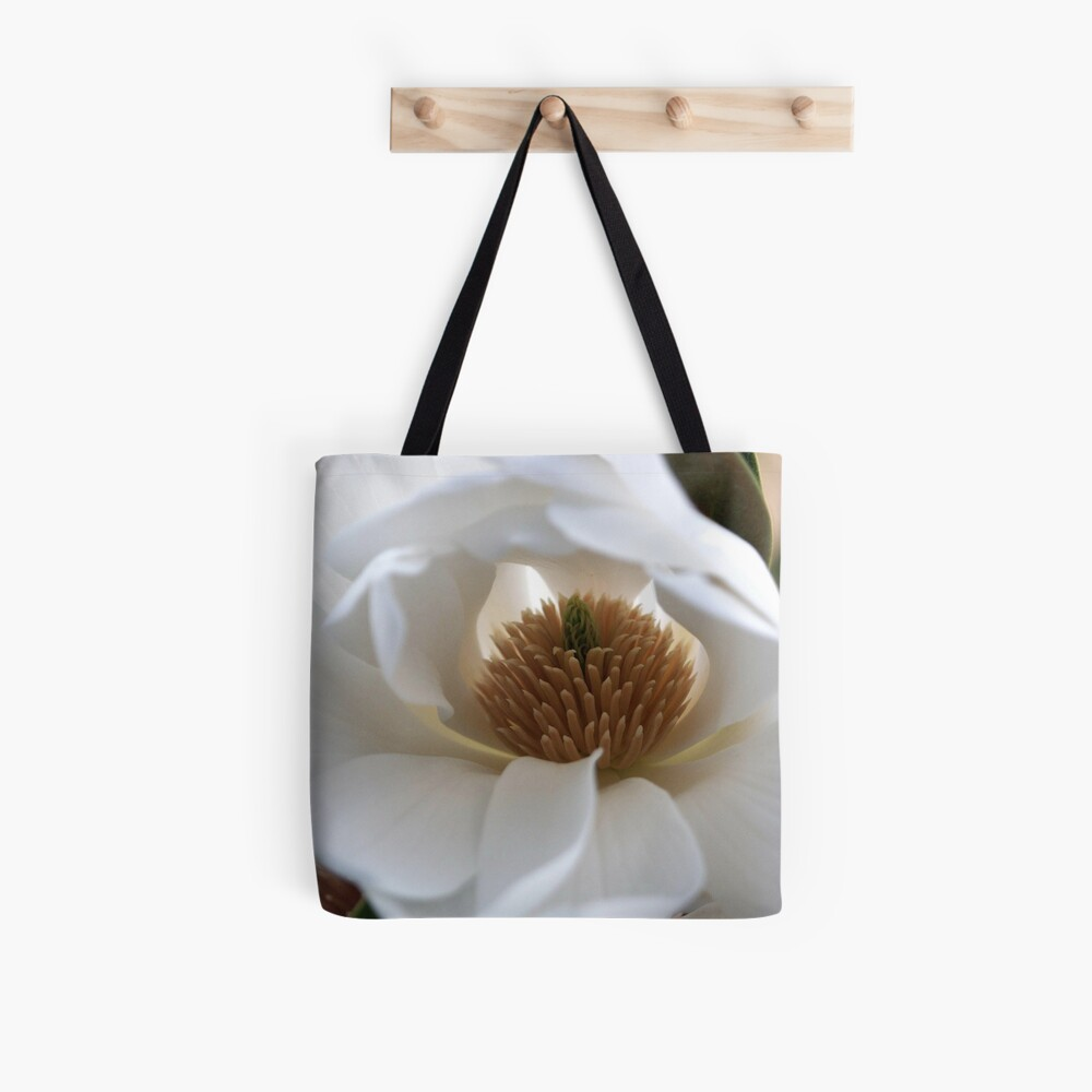 Evergreen Magnolia Tote Bag