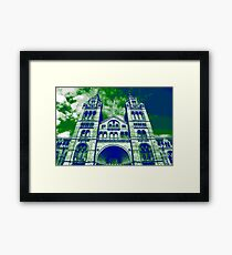 London's Natural History Museum Framed Print