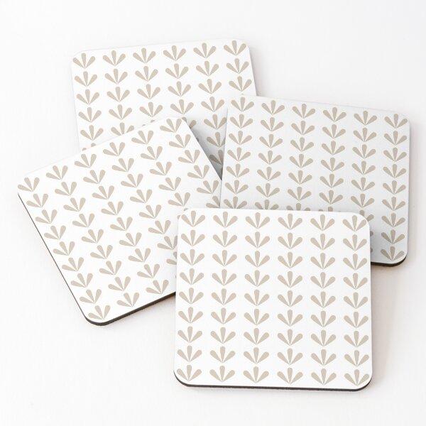 Nefrit (White) Coasters (Set of 4)