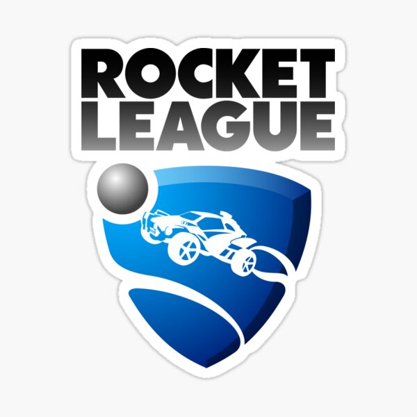 Logotipo / texto de Rocket League Pegatina