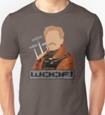 Lord Flashheart 'Woof' design Unisex T-Shirt