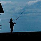 Menemsha Fisherman by phil decocco