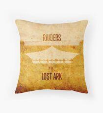Raiders (aged) Throw Pillow