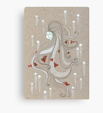 The Jelly Lady Canvas Print