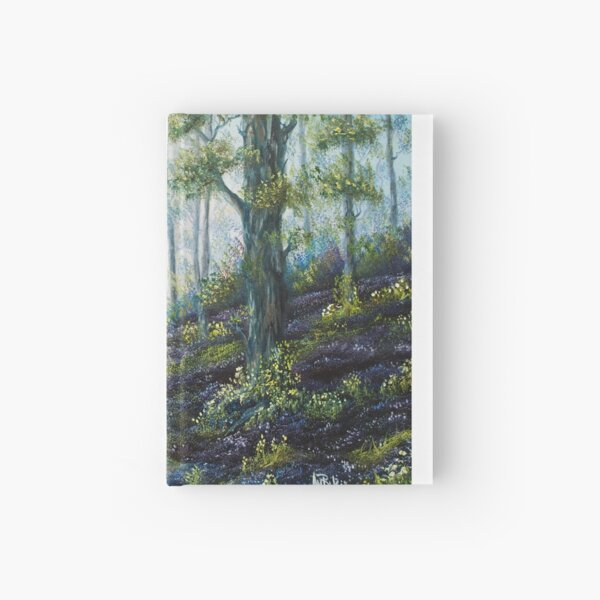 Enchanted Forest - oil painting Hardcover Journal