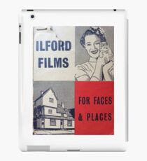 For Faces and Places iPad Case/Skin