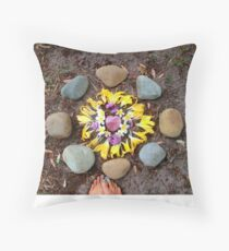 Medicine Wheel Throw Pillow
