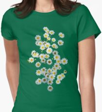 Riot of Spring Flowers Women's Fitted T-Shirt