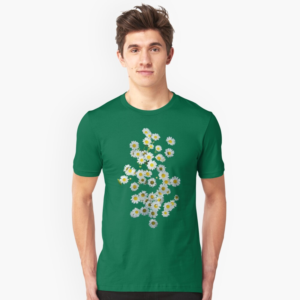 Riot of Spring Flowers Unisex T-Shirt Front