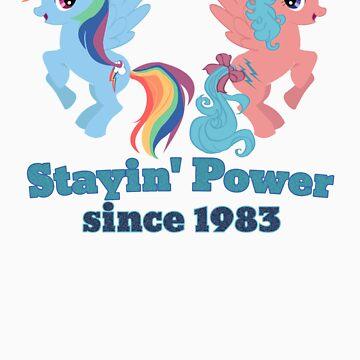 Stayin' Power - Rainbow Dash & Firefly by Gabihime