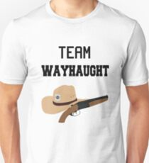 Team WayHaught [Black] Unisex T-Shirt