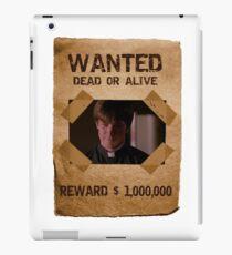 Buffy Caleb Nathan Fillion Wanted 1 iPad Case/Skin