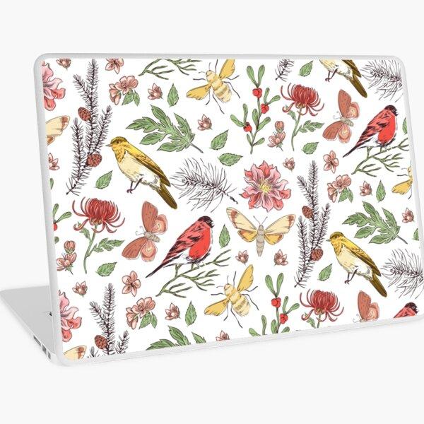 Birds | Plants | nature Laptop Skin