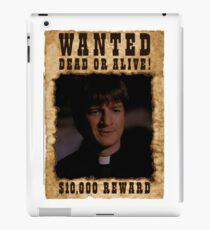 Buffy Caleb Nathan Fillion Wanted 2 iPad Case/Skin