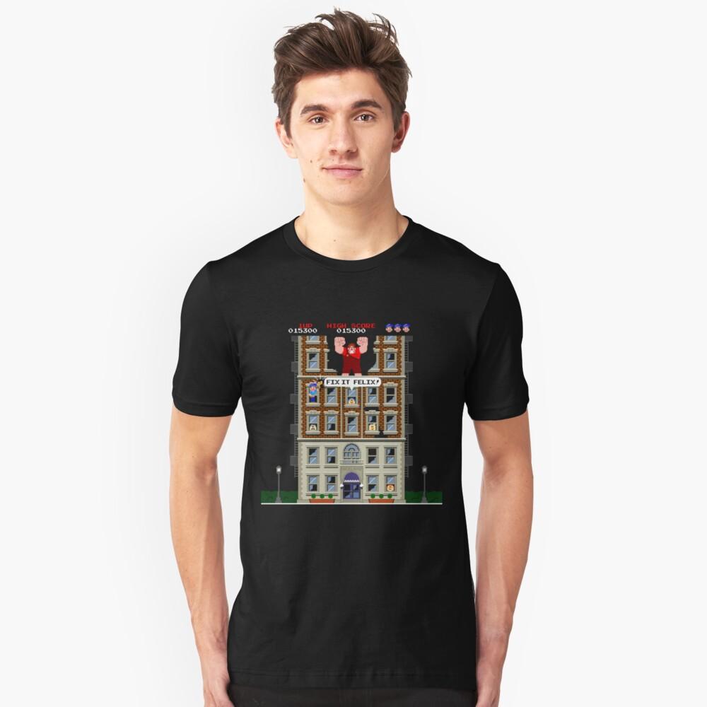 Fix-It Felix Jr. Unisex T-Shirt Front