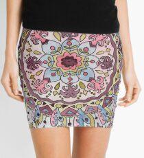 Mandala 01 Mini Skirt