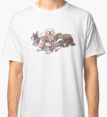 Hamilton Musical x Broadway Dogs Classic T-Shirt