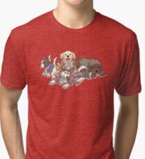 Hamilton Musical x Broadway Dogs Tri-blend T-Shirt