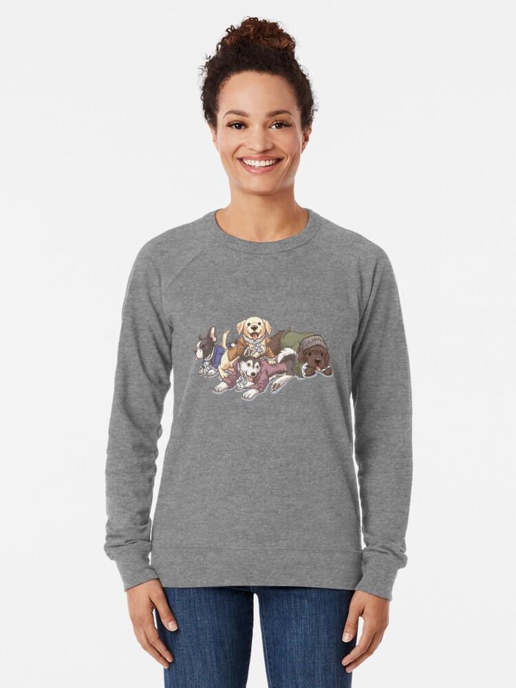 Alternative Ansicht von Hamilton Musical x Broadway Hunde Leichter Pullover
