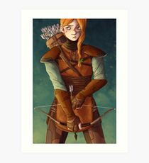 Leather Armor Art Print