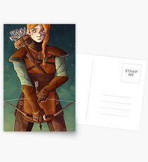 Leather Armor Postcards