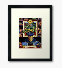 The Graduation ( A man of letters) Framed Print