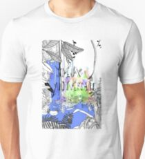 In the jungle- Happy birthday in French Unisex T-Shirt